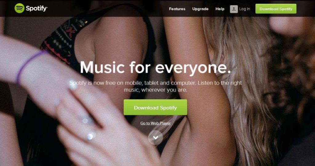 spotify muusic hudba