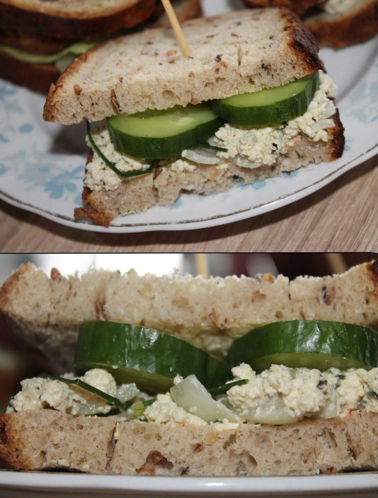 Veganské sendviče