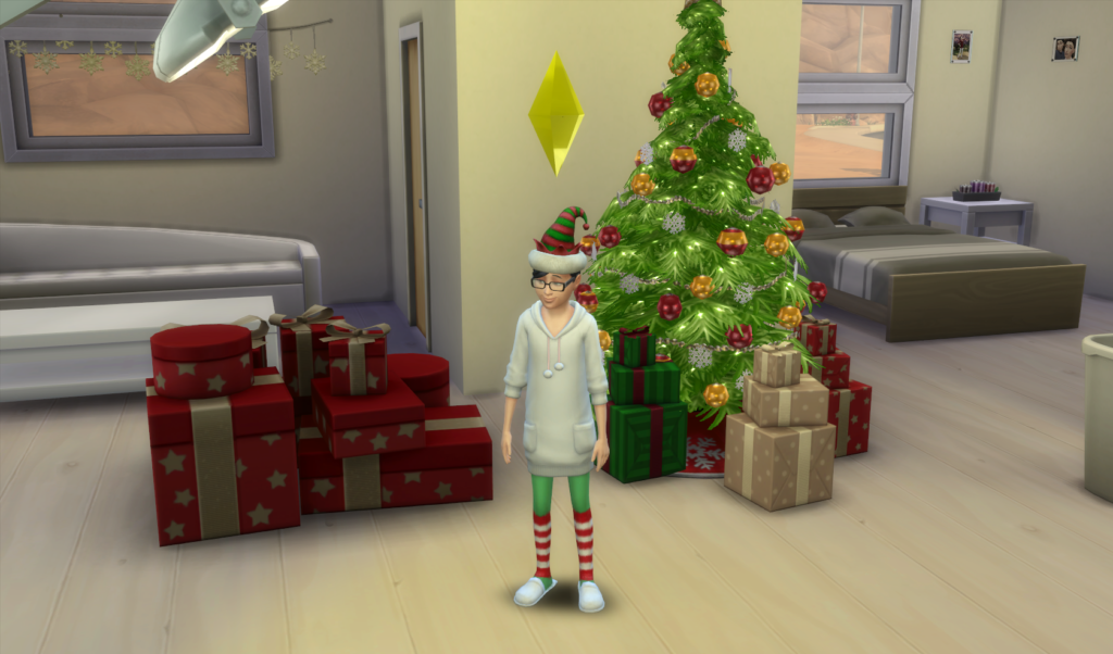 Christmas in The Sims 4