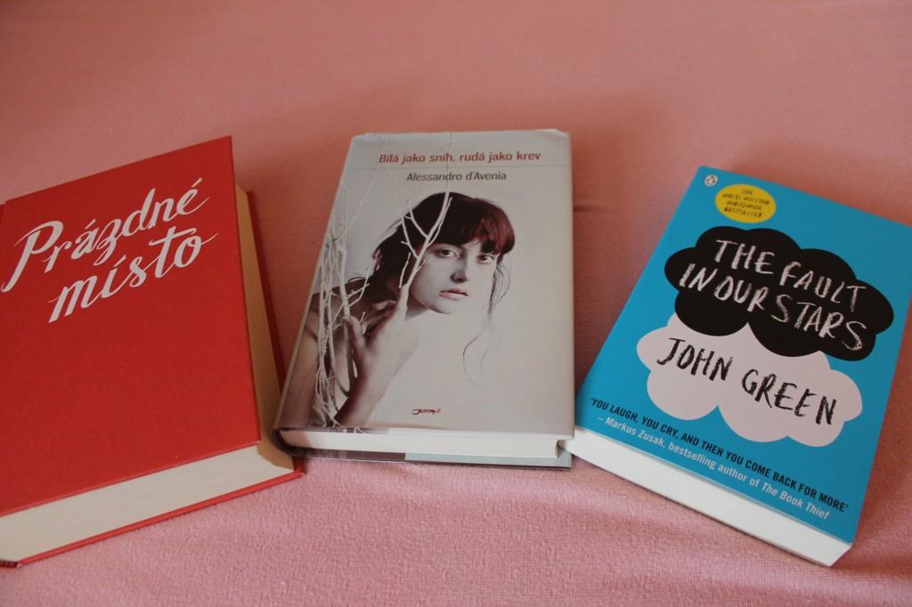 Summer books 2014  knihy léto