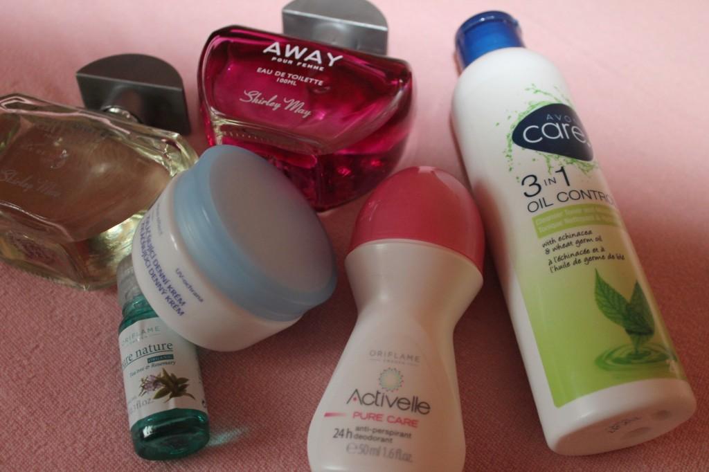summer cosmetics letní kosmetika