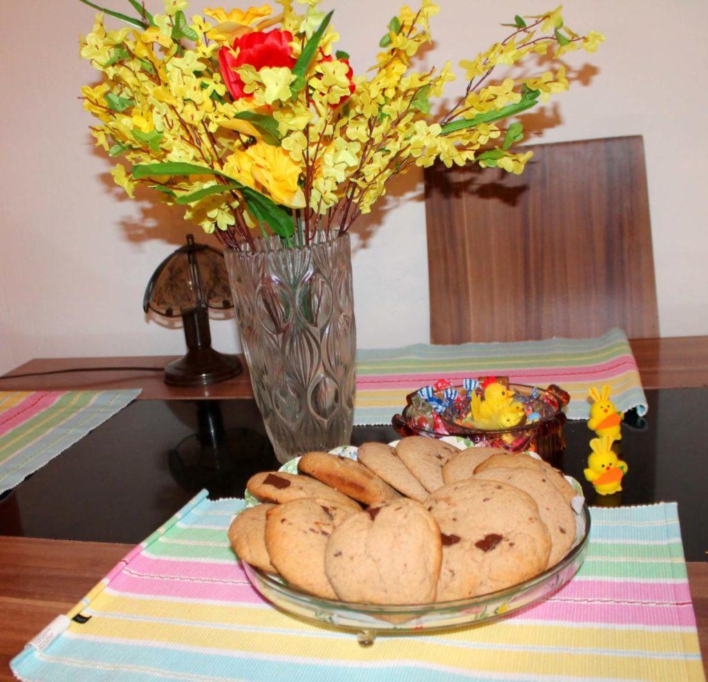 Perníkové sušenky s kousky čokolády