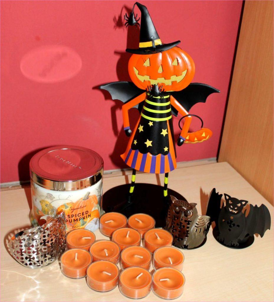 Halloweenské svíčky a doplňky PartyLite