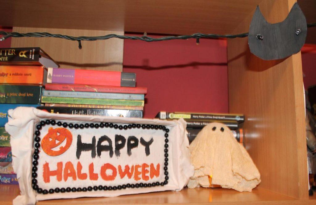 DIY halloweenské dekorace