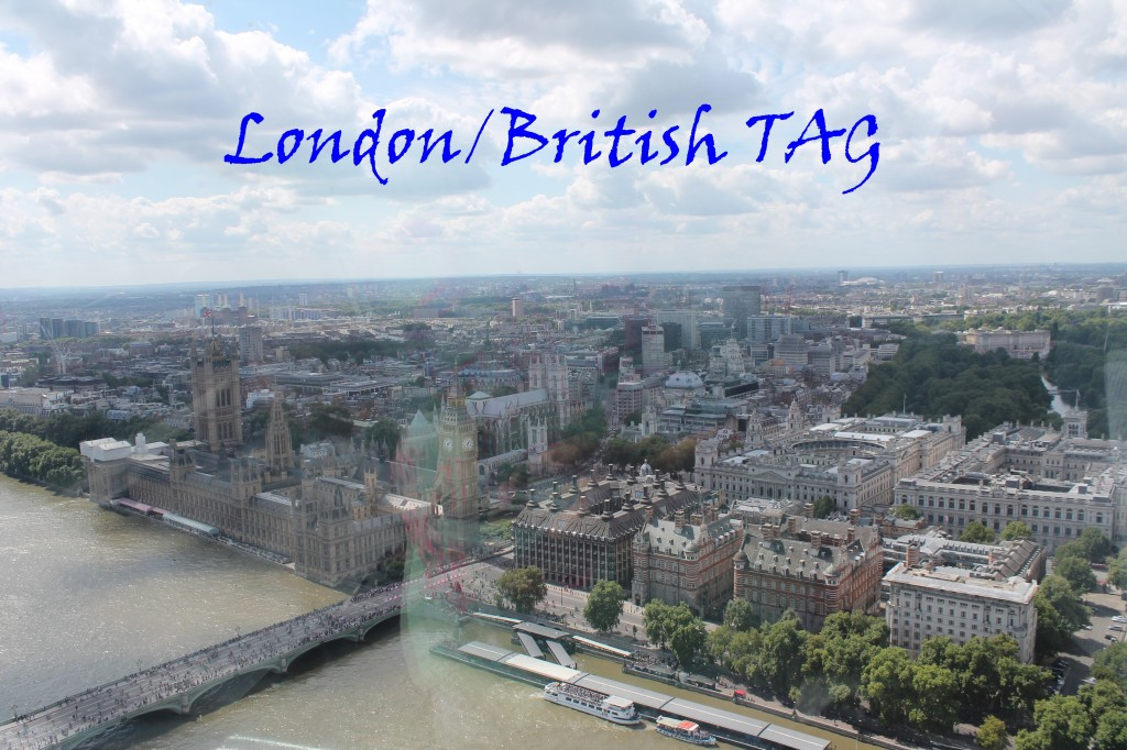 London/British TAG Londýn Británie