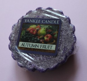 yankee candle wax vosk vůně autumn fruit recenze review