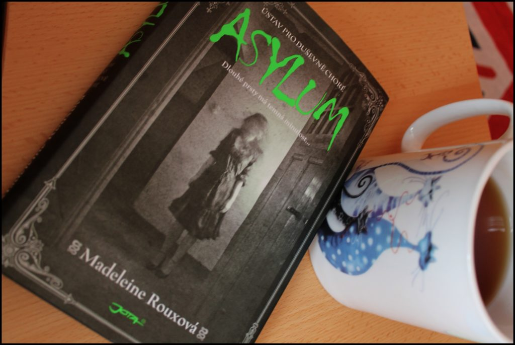 book review knižní recenze Asylum Madeleine Roux
