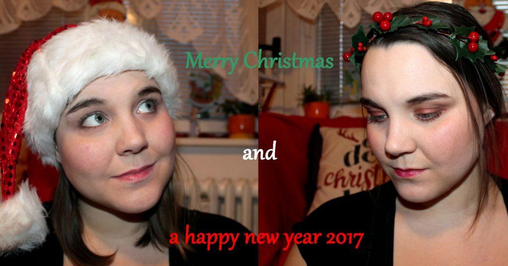 vánoční make-up