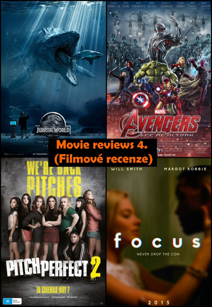 movie reviews recenze film pitch perfect ladíme focus jurský park jurrasic  avangers