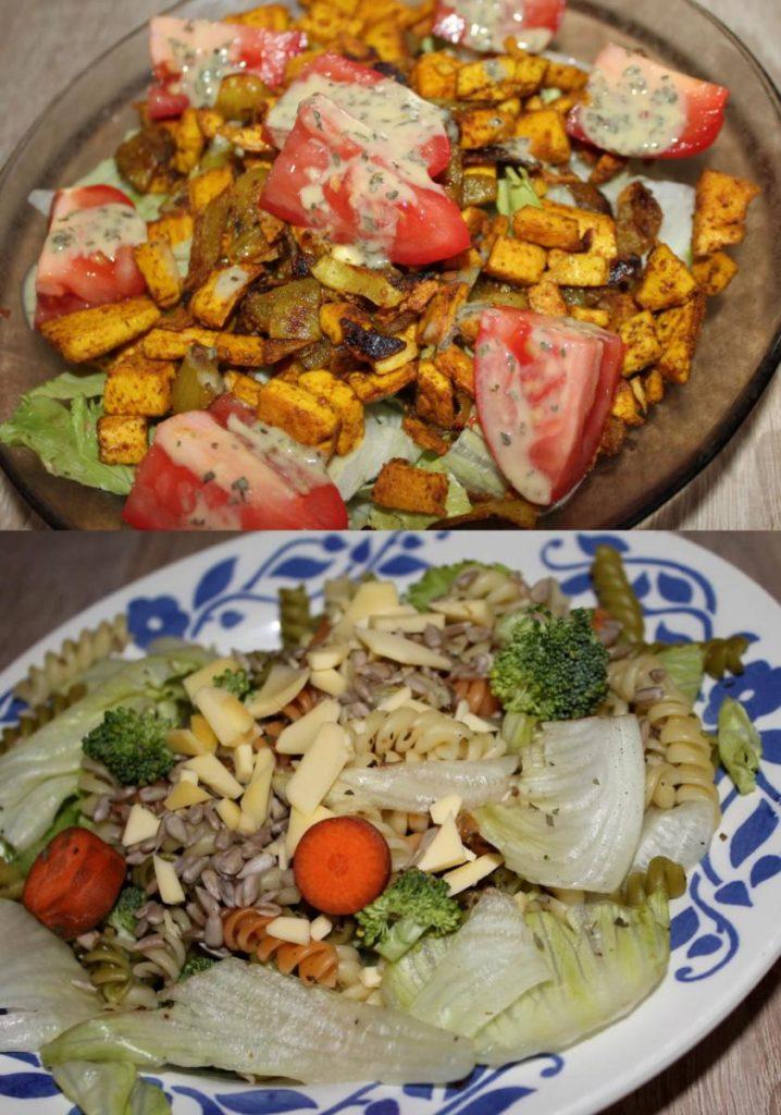 Vegan saláty do školy či práce