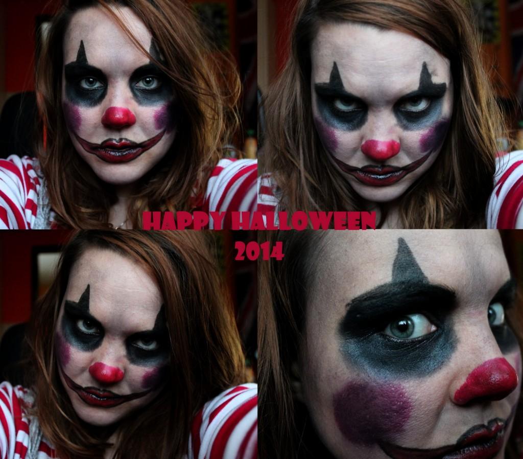 Halloween claun klaun 2014