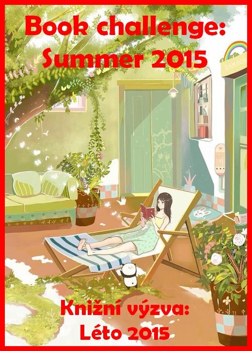 book challenge summer 2015 knižní výzva léto
