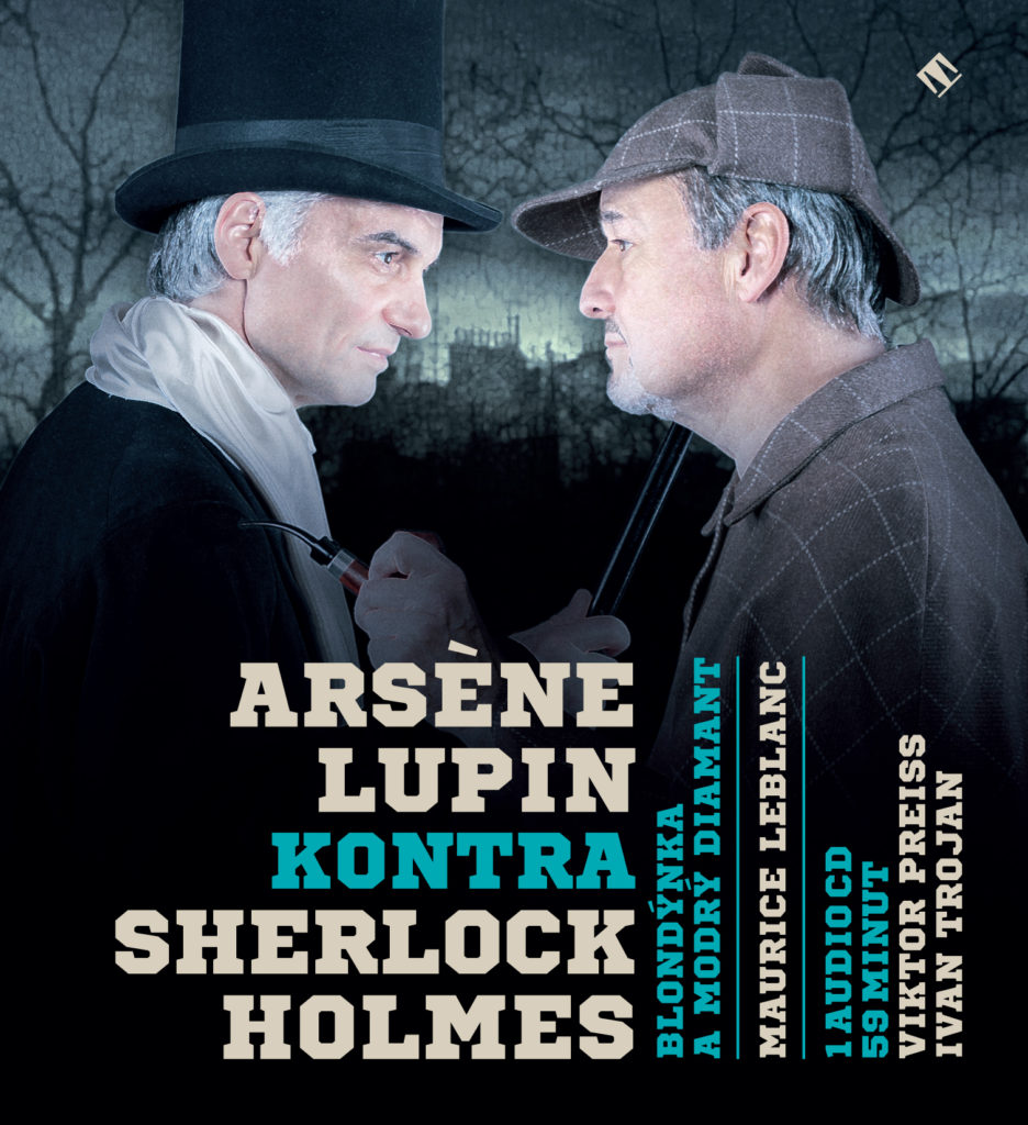 audioknihy recenze audiobook review Sherlock Holmes Arséne Lupin