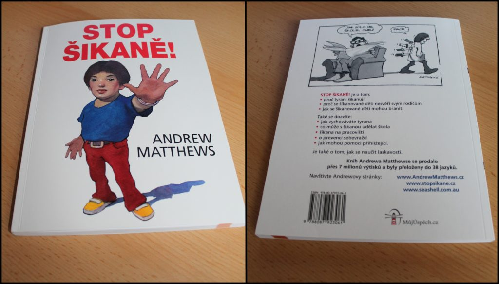 book review knižní recenze stop the bullying stop šikaně Andrew Julia Matthews