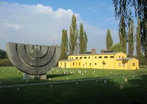 Terezín mapa  Theresienstadt ghetto WW2 malá pevnost Small Fortress památník memorial map event akce